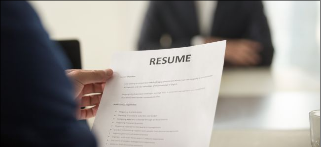Use the resume build1